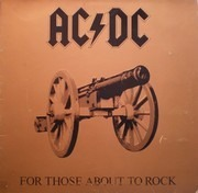 LP - AC/DC - For Those About To Rock We Salute You - Gatefold Sleeve