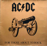 LP - AC/DC - For Those About To Rock We Salute You - Gatefold