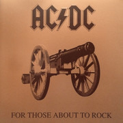 LP - AC/DC - For Those About To Rock We Salute You - Still sealed, 180 Gram