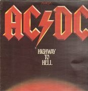 LP - AC/DC - Highway To Hell - red labels
