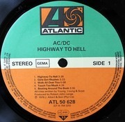 LP - AC/DC - Highway To Hell