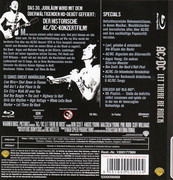Blu Ray - AC/DC - Let There Be Rock - Copy Protection