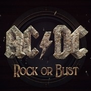 Double LP - AC/DC - Rock OR Bust - incl. CD/ Holo-Cover