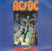 7inch Vinyl Single - AC/DC - Who Made Who