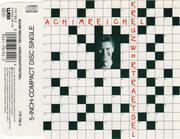 CD Single - Achim Reichel - Kreuzworträtsel