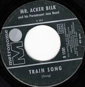 7inch Vinyl Single - Acker Bilk And His Paramount Jazz Band - Harem / Train Song