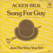 7inch Vinyl Single - Acker Bilk - Song For Guy