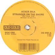 7inch Vinyl Single - Acker Bilk - Stranger On The Shore