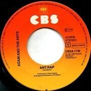 7inch Vinyl Single - Adam And The Ants - Ant Rap - Window Sleeve