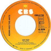 7inch Vinyl Single - Adam And The Ants - Ant Rap