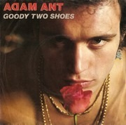 7inch Vinyl Single - Adam Ant - Goody Two Shoes - Injection-moulded labels
