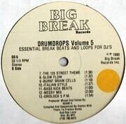 12'' - Adam X - Drumdrops Vol. 5 (Essential Break Beats And Loops For DJ's)