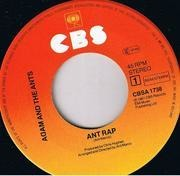 7'' - Adam And The Ants - Ant Rap