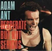 7'' - Adam Ant - Desperate But Not Serious - Gatefold Cover