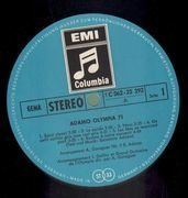 LP - Adamo - Olympia 1971 - Gatefold