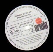 LP - Adriano Celentano - Die großen Erfolge