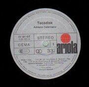 LP - Adriano Celentano - Tecadisk
