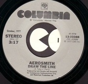 7'' - Aerosmith - Draw The Line