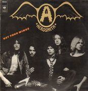 LP - Aerosmith - Get Your Wings - sunburst labels