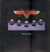 LP - Aerosmith - Rocks - textured sleeve