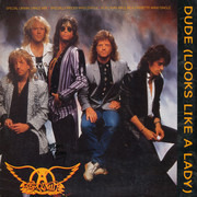 12inch Vinyl Single - Aerosmith - Dude (Looks Like A Lady)