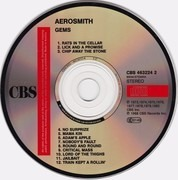 CD - Aerosmith - Gems