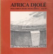 LP - Africa Djolé - Percussion Music From Africa