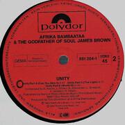 12inch Vinyl Single - Afrika Bambaataa & James Brown - Unity