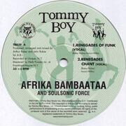 12inch Vinyl Single - Afrika Bambaataa & Soulsonic Force - Renegades Of Funk