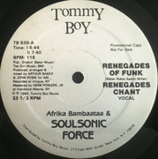 LP - Afrika Bambaataa & Soulsonic Force - Renegades Of Funk