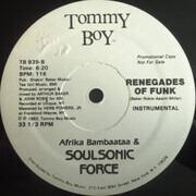 LP - Afrika Bambaataa & Soulsonic Force - Renegades Of Funk