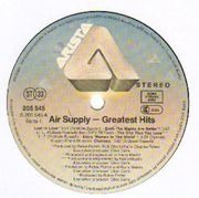 LP - Air Supply - Greatest Hits