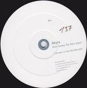 12inch Vinyl Single - Akyra - Here Comes The Rain Again