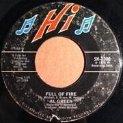 7inch Vinyl Single - Al Green - Full Of Fire