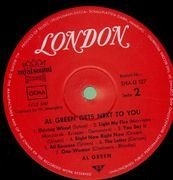 LP - Al Green - Gets Next To You