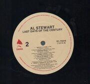 LP - Al Stewart - Last Days Of The Century