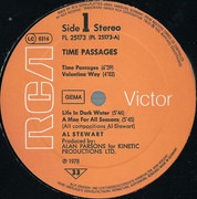 LP - Al Stewart - Time Passages - Gatefold sleeve