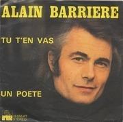 7'' - Alain Barrière, Noëlle Cordier - Tu T'En Vas / Un Poete