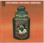 CD - Albert King , Steve Cropper & Pops Staples - Jammed Together