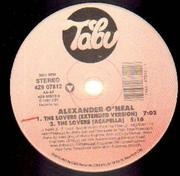 12'' - Alexander O'Neal - The Lovers - PROMO