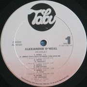 LP - Alexander O'Neal - Hearsay - Carrollton Pressing