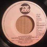 7inch Vinyl Single - Alexander O'Neal - The Official Bootleg Megamix Vol. 2
