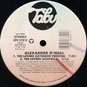12'' - Alexander O'Neal - The Lovers