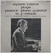 LP - Alfred Cortot plays Franck - Piano Quintett in f-minor