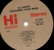 LP - Al Green - Explores Your Mind