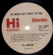 LP - Al Green - Gets Next To You - Promo