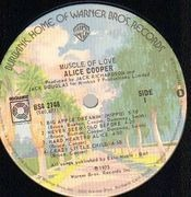 LP - Alice Cooper - Muscle Of Love - Quadraphonic, stickered cardboard