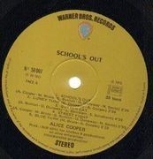 LP - Alice Cooper - School's Out - Gimmick Cover