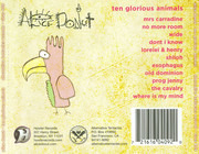 CD - Alice Donut - Ten Glorious Animals
