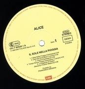 LP - Alice - Il Sole Nella Pioggia